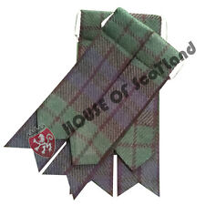 Men's Kilt Hose Sock Flashes Black Watch Tartan/Scottish Kilt Hose Socks Flashes