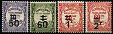"""FRANCE STAMP TAXE YVERT N° 51 / 54 """" 4 TIMBRES SURCHARGES """" NEUFS xx LUXE B108"""
