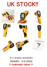 Handheld Digital LCD Temperature Thermometer Laser Non-Contact IR Infrared Body
