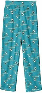 Miami Dolphins NFL Youth Boys Pajama Lounge Bottoms ~ NWT