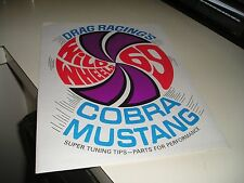 1969 SUPER RARE ORIG. MUSTANG/MACH1/COBRA  RACING WILD WHEELS BROCHURE/MANUAL
