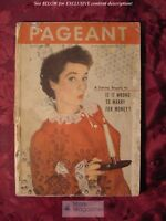 PAGEANT magazine December 1948 Jeanne Rockwell Roy Bean Eugene Lyons