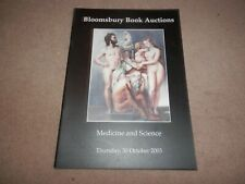 Bloomsbury Book Auctions Catalogue Medicine and Science 2003