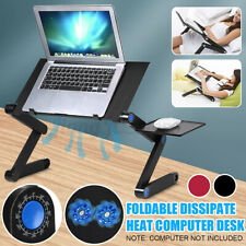 Folding Laptop Stand Table Adjustable Computer Portable Notebook Rack Holder