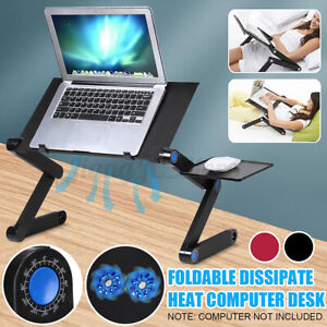 Folding Laptop Stand Table Adjustable Computer Portable Notebook Rack Holder