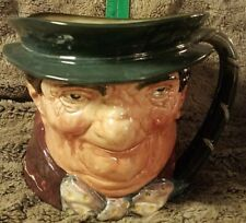 """Vintage 1930s Royal Doulton Toby Character Pitcher Mug Cup 7"""" Tony Weller *Nr*"""