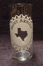 St Arnold Taster Beer Glass Texas Oldest Craft Brewery