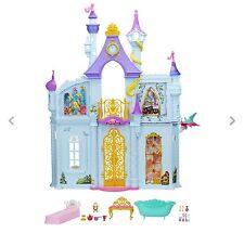 Disney Princess Royal Dreams Castle Enchanting PlaySet 3 FT Furnished BARBIE NEW