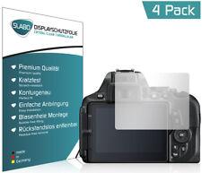 "4 x Slabo Displayschutzfolie Nikon D5600 Schutzfolie Folie ""Crystal Clear"""