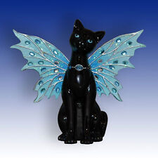 Sky Feline Fairy Cat Animal Fantasy Figurine - Bradford Exchange