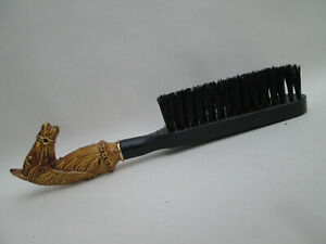 An Old Vintage Horse Head Equestrian Jacket Brush