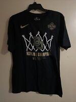 Nike Baylor University Bears 2019 NCAA Women's Basketball Champions Shirt Size M