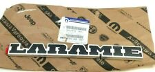 2019 2020 RAM 1500 Laramie rear tailgate chrome black Nameplate Emblem new OEM