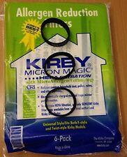 Genuine Kirby Universal Bags: 1 Pack (6 bags) of Universal Hepa White Cloth B.