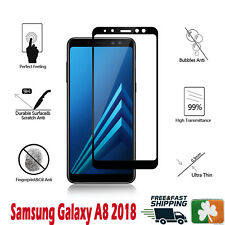 Samsung Galaxy A8 2018 Full Cover 4D HD Tempered Glass Screen Protector