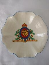 "Coronation of George VI, 5.5"" Trinket/Pin Dish by J & G Meakin Sunshine"