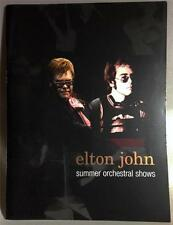 Elton John Sommer Orchestral zeigt NY Radio City Hall Programm 2004 News Clipping
