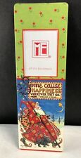 Mary Engelbreit Photo Bookmark Some Cause Happiness Wherever They Go Santa