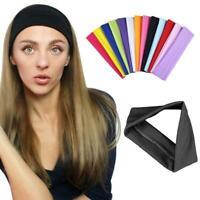 Woman Girl Sport Yoga Stretch Headband Head Band Hair Bands Sweatband