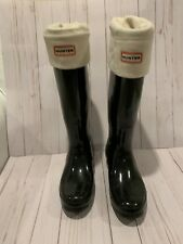 Hunter Boots Insulated Womens Size 10