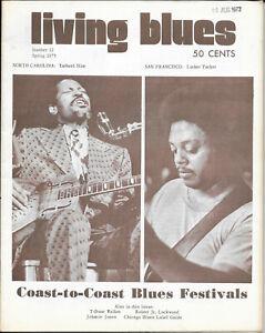 LIVING BLUES : Magazine : Number 12 : Spring 1973