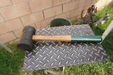 PROTO 1368 Rubber Mallet Hammer,W/Original Green PROTO Handle Mfd USA,17'' OAL