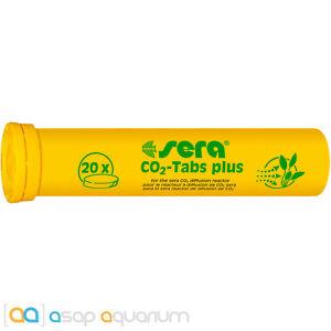 Sera CO2 Tabs Plus 20 Tablets for Freshwater Aquarium Plants
