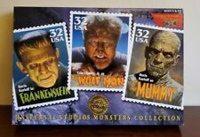 Universal Studios Monsters Frankenstein/The Wolf Man/The Mummy Boris Karloff New