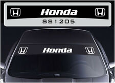 SS1205 Honda sun strip graphics stickers decals sunstrip Civic Accord Type R