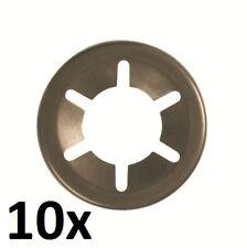 10x StarLock acier peint 17 mm Disque Rondelle plate achs rondelle