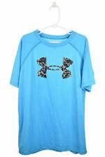 Under Armour Boys Tops T-Shirts M Blue N/A