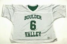 Vintage Boulder Valley Football Jersey Size Large L Athletic Cut Reversible Usa