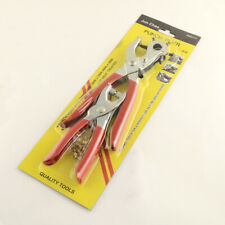 2pcs Steel Leather Punching Pliers Sets Eyelet Pliers and Iron Findings