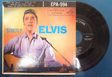 "ELVIS PRESLEY ""Strictly Elvis"" 7"" Oldies EP"