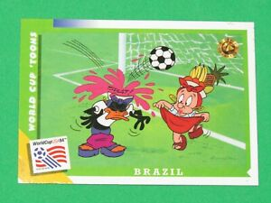 1994 WORLD CUP LOONEY TOONS USA SOCCER PROMO TYCO ACTION FIGURE #28 INSERT CARD