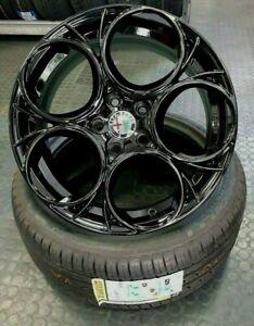 4 Cerchi in lega 17 Alfa Romeo Giulietta 940 con gomme pirelli 225/45 17 91Y P7