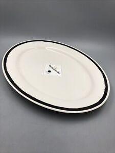 "Martha Stewart Collection Heirloom Serving Oval Platter 27""x13"" (46x33cm) NWT"