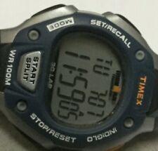 Men's Timex Ironman Triathlon 30 Lap Watch Digital Alarm Chrono