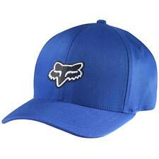 Fox Racing Legacy Flexfit Flex Fit Hat Cap Blue MX ATV Off Road Motocross 58225