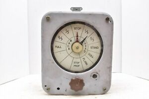 Vintage Engine Order Telegraph Submarine Sub COLD WAR ATQ