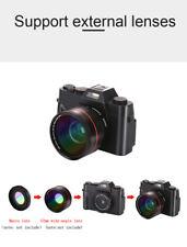 WiFi 4K 3.0 Inch HD Digital Camera Video Camcord 16X Digital Zoom Portable Smart