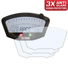 3 X DUCATI 848 1198 instrumento/dashboard/Speedo protector de pantalla AG