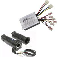 36V 800W Motor DC Brush Speed Controller Throttle Twist Grip EBike Scooter