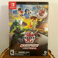 RARE Bakugan: Champions of Vestroia DELUXE Edition w/ Toy (Nintendo Switch)