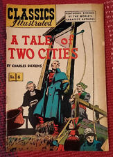"""Classics Illustrated #6 (HRN 51) """"A Tale of Two Cities"""" Very Fine Plus VF+"""