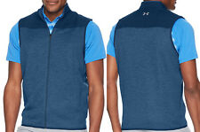 Under Armour UA Golf Sweaterfleece Full Zip Sleeveless Vest Gillet - XL ONLY