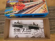 HO SCALE ATHEARN SW7 FRAME/CHASSIS & TRUCKS
