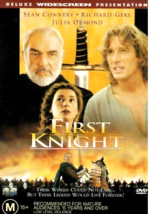 FIRST KNIGHT DVD 1995 Sean Connery Medieval Adventure Movie - DELUXE WIDESCREEN