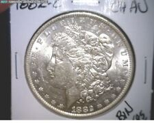 1882 O Morgan Silver Dollar - 90% Silver - CHOICE AU