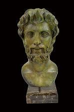 Aristotle Aristoteles bronze bust Ancient Greek philosopher great sculpture